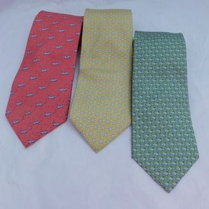 VINEYARD VINES BUNDLE OF 3 SILK TIES